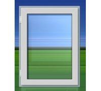 ПВХ окно 800х900