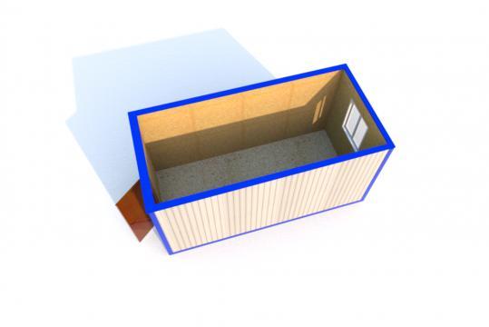 Блок-контейнер БК-00С 5 ДВП