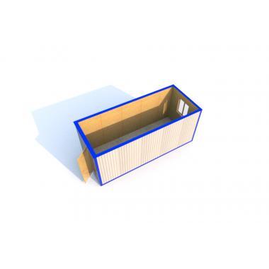 Блок-контейнеры БК-00 Эконом 5,85/2,43