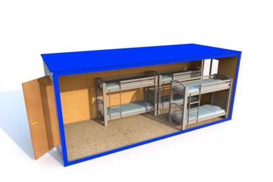 Блок-контейнер в аренду жилая