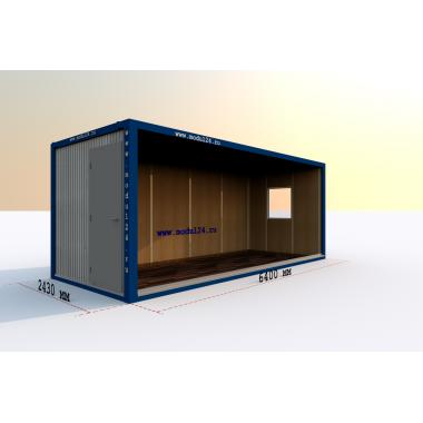 МДФ офис блок-контейнер БК-00 5,85х2,43