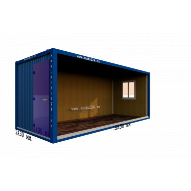 Мобильный офис Блок-контейнер МДФ