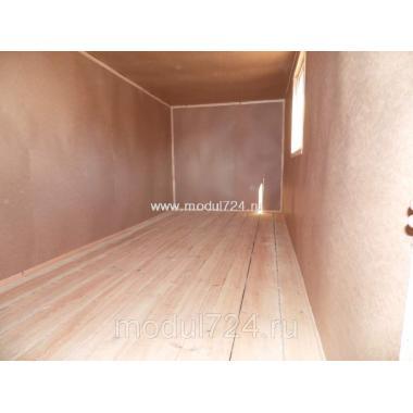Бытовка деревянная БД-01 Тамбур
