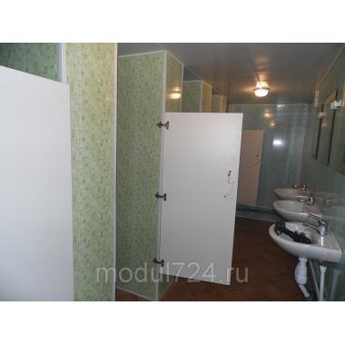 Блок-контейнер сан-узел, туалет