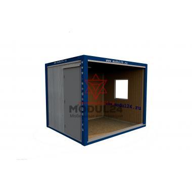Блок-контейнер БК-00 вагонка 3 метра