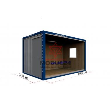 Блок-контейнер БК-00 ДВП 4 м