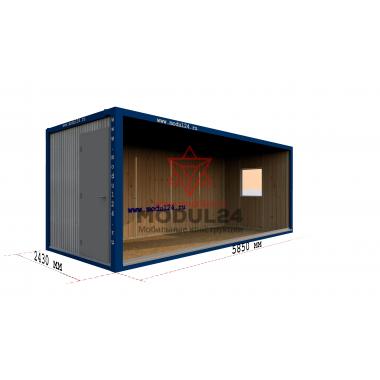 Блок-контейнер БК-00 вагонка 6м