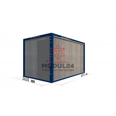 Блок-контейнер БК-00 вагонка 4 метра